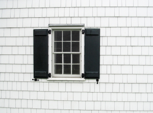 Poe Cottage Window